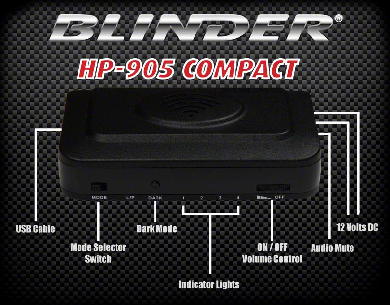 BLINDER HP-905 Compact laser jammer park assist